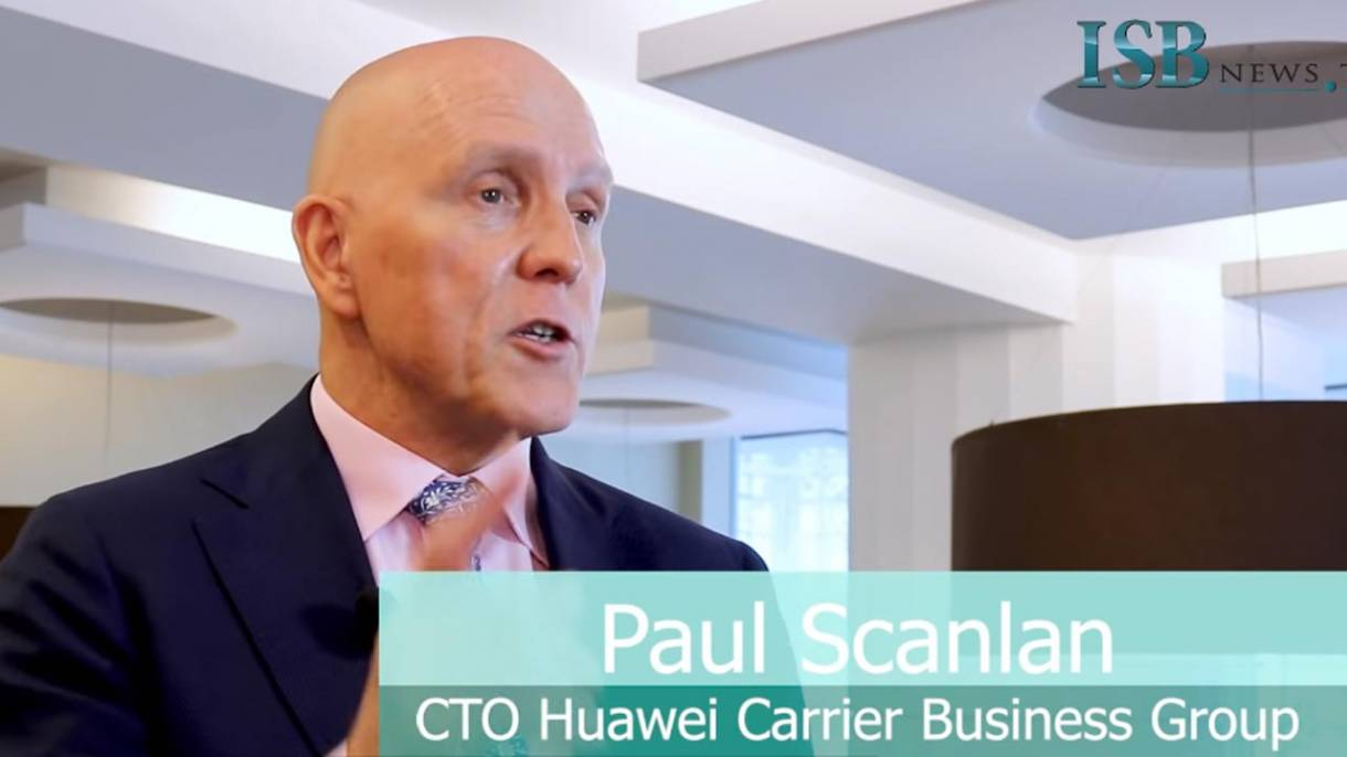 Paul Michael Scanlan, CTO Huawei Carrier Business Group.