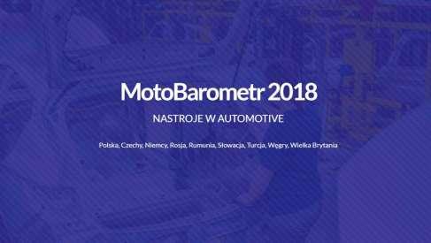 Motobarometr - branża motoryzacyjna. W Polsce optymizm