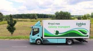 Żabka: Pierwszy w Polsce w pełni elektryczny samochód dystrybucyjny Volvo FL Electric