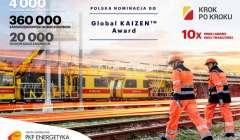 PKP Energetyka z nominacją do Global Kaizen Award